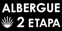 Logotipo Albergue Segunda Etapa peregrinos camino de santiago en Zubiri Navarra